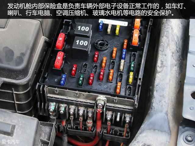 如车灯,喇叭,行车电脑,空调压缩机,玻璃水电机等电路的安全保护;另一