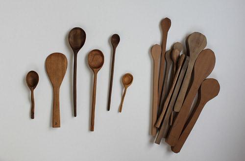 优雅的勺子 DIY木质雕刻小勺