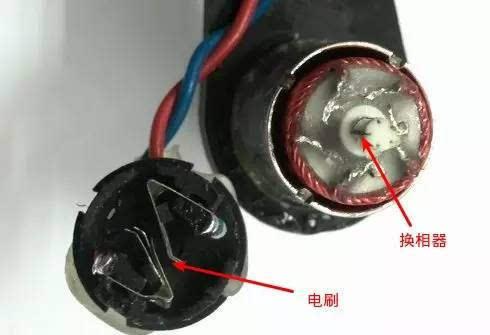 家用电动机结构