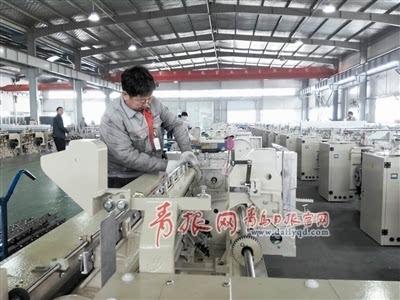 昔日纺织机械重镇遇低谷 青岛王台产业转调加速推进