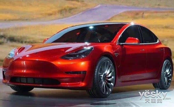 特斯拉:新款电动汽车model 3订单量达37.3万