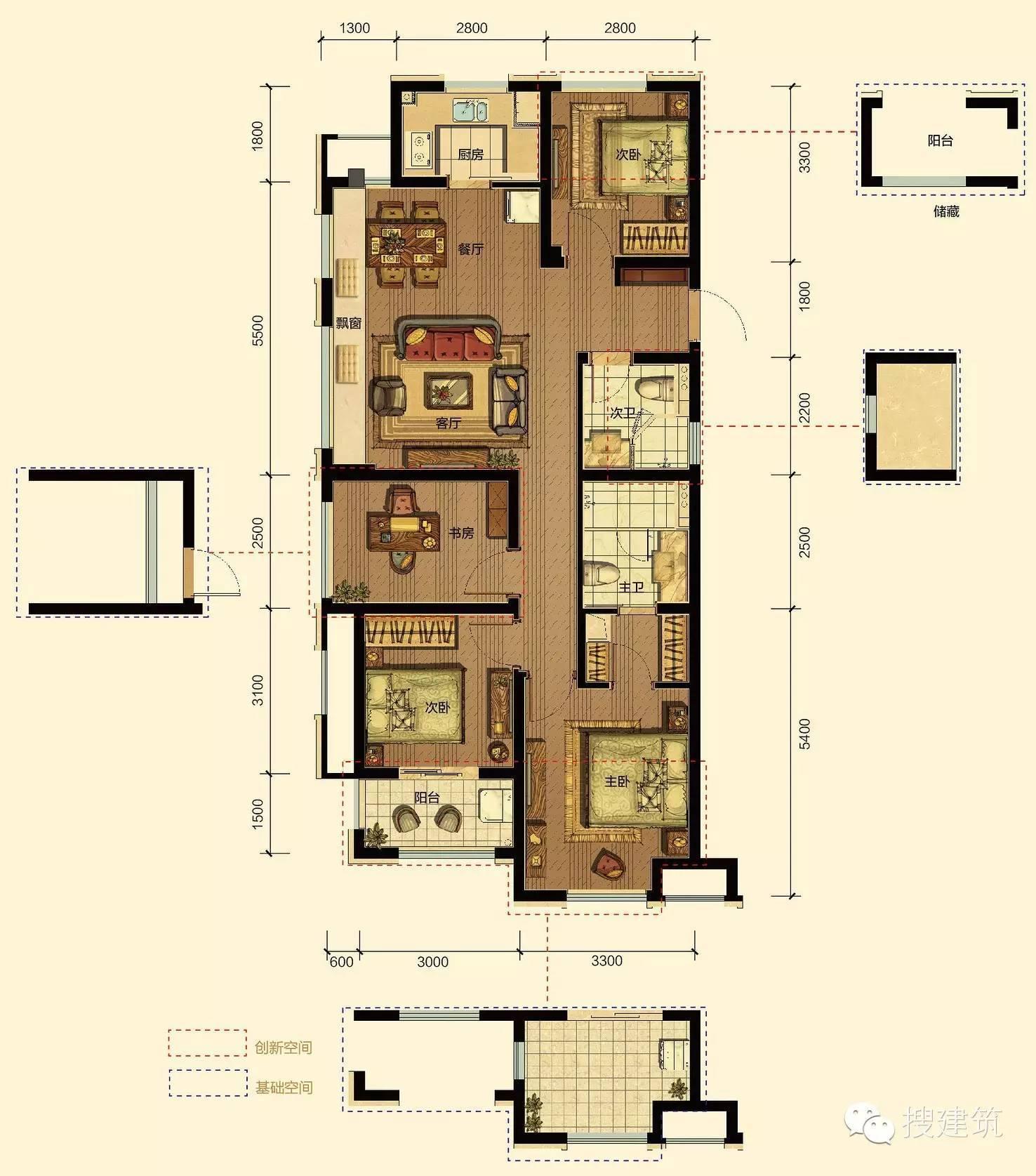 农村四米宽房屋设计图纸展示