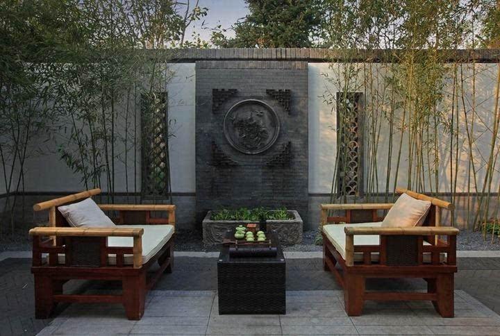 新中式建筑|庭院,美到骨子里图片