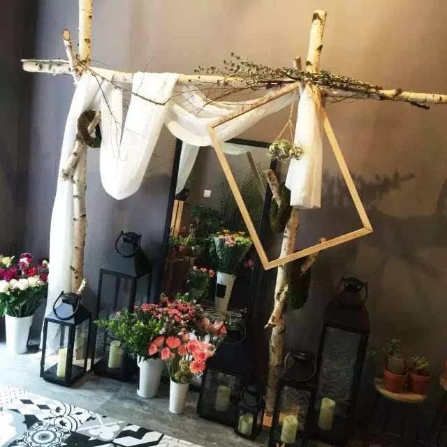 韩国花店装修风格图片