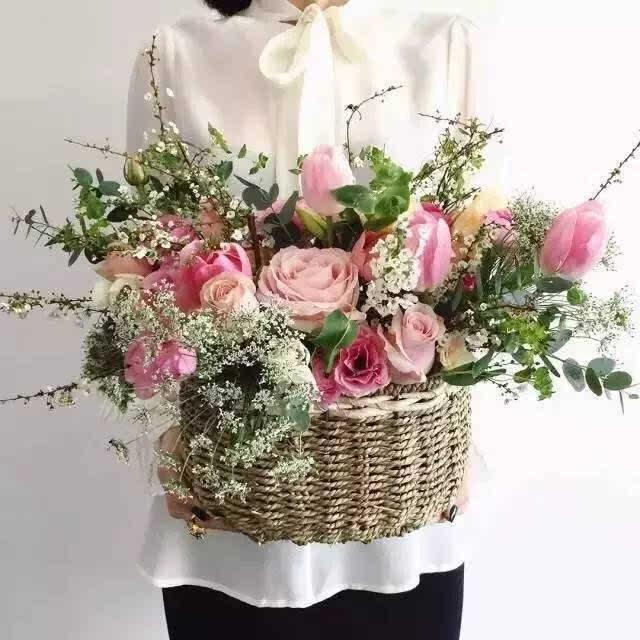 玫瑰花盆手工制作组合