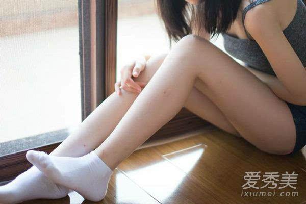 腿部刮痧减肥方法图解图片