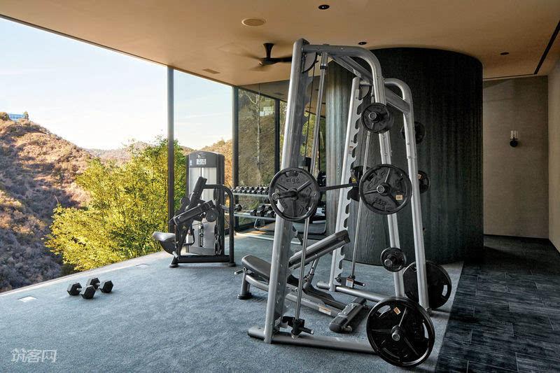 十几款家庭健身房设计欣赏