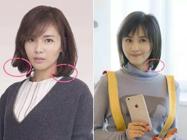 刘涛高圆圆越来越美了 一个好发型抵得过一柜子衣服