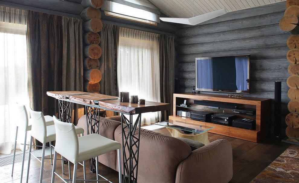 装修美式乡村风格_小型别墅木之元素图片