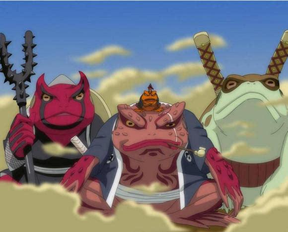 他也是蛤蟆吉,蛤蟆龙的父亲