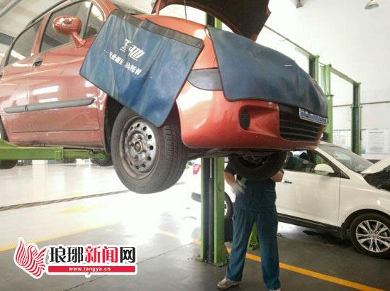 宝骏乐驰开1年轮胎磨平2次临沂4S店称无质量问题