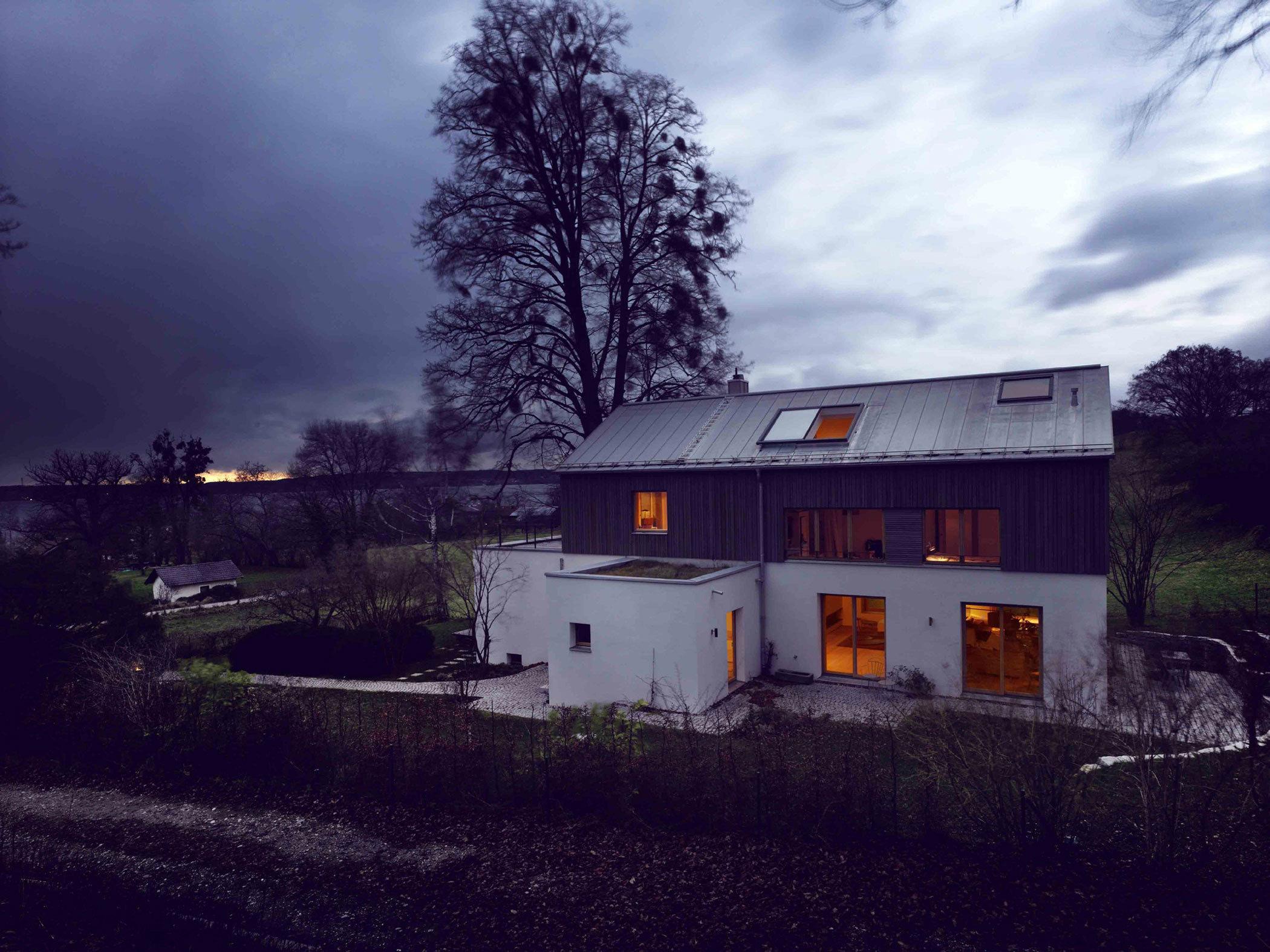 农村别墅室内设计_隐世而独居