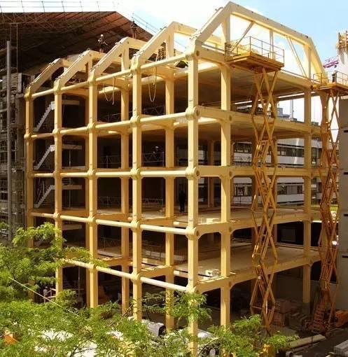 木头房子结构简图
