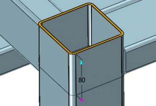 [实例教程]使用中望3d进行钢结构建模设计