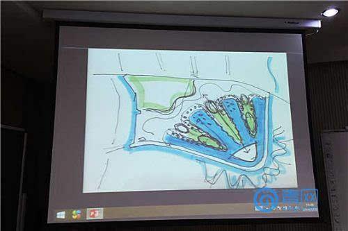同时,青岛伊甸园手绘图首次公布,预计2018年建成.