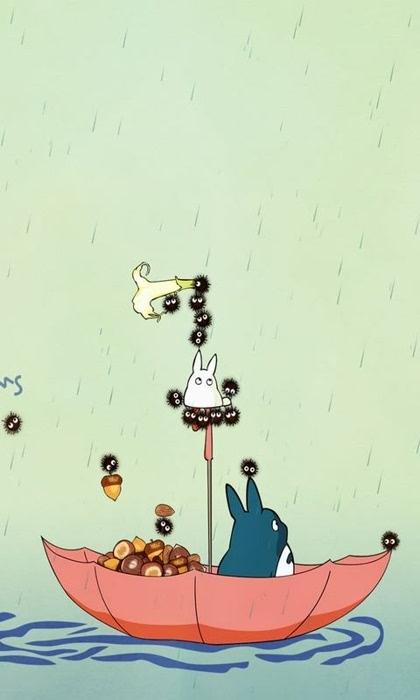 龙猫手机壁纸图片-搜狐