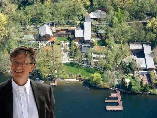 比尔盖茨亿元豪宅的19个秘密 所有土豪全都得让