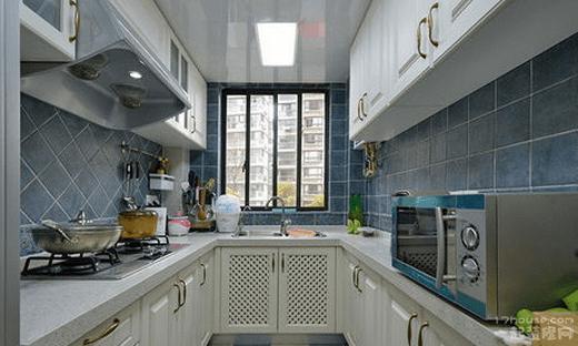 地中海厨房吊顶风格 北京厨房吊顶装修图片