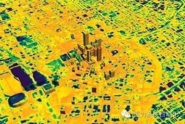 图1城市热岛效应示意图(图片来自百度百科)
