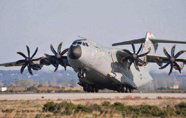 空客承认a-400m发动机有毛病 卖出去的飞机全都得修图片