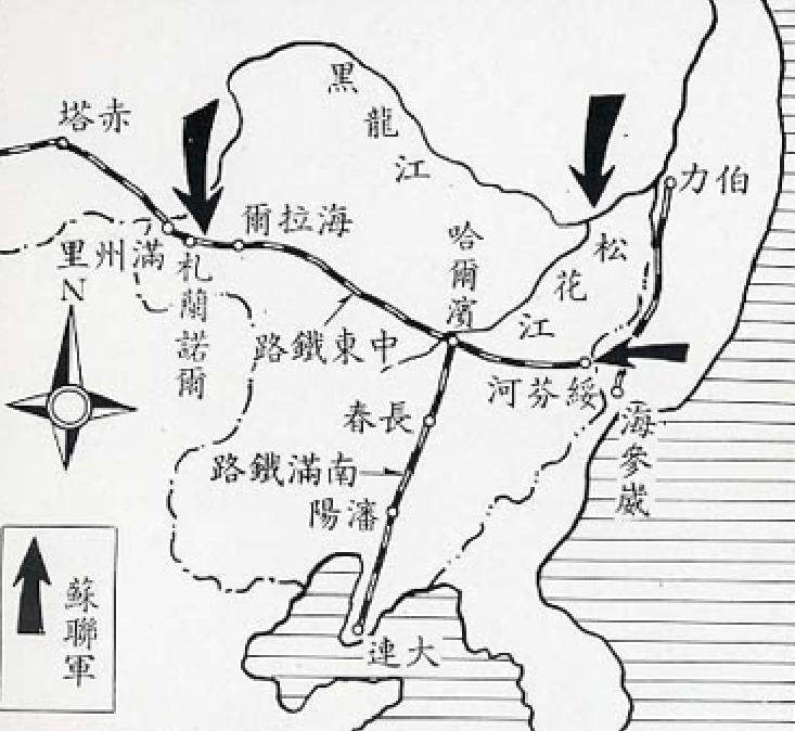 中国版图轮廓简笔画