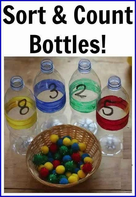 幼儿园矿泉水瓶手工制作图片
