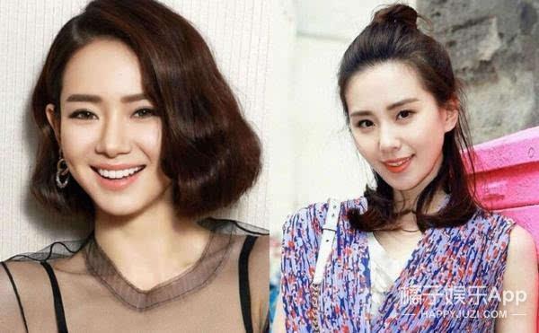 现在最火的两种发型就是:短发and半丸子头!