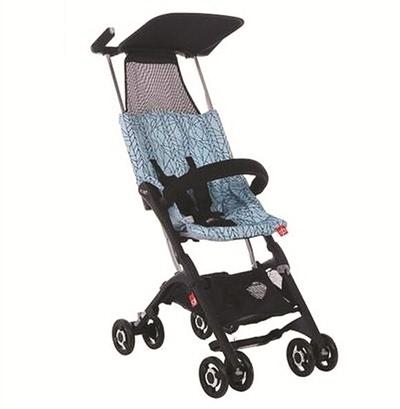 """折叠后最小婴儿车""""(折叠后整车尺寸"""