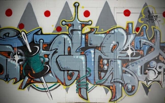 另类创意个性墙壁涂鸦图片壁纸图片