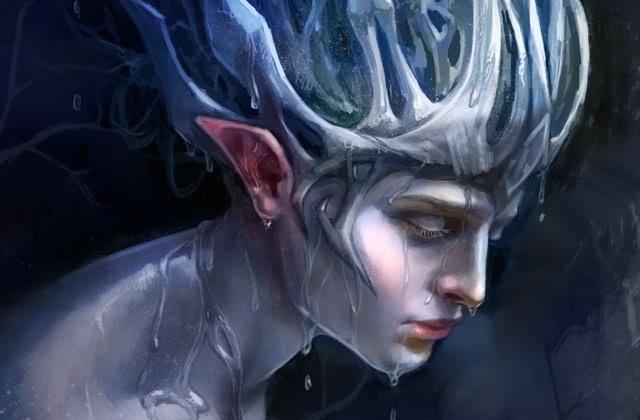 创意精灵人物艺术绘画图片壁纸