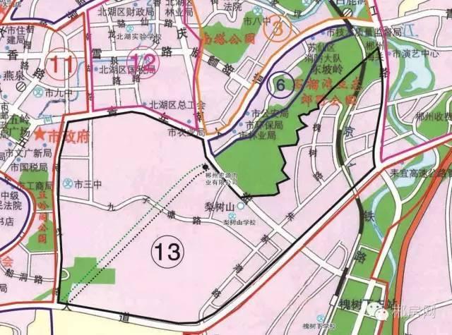郴州最新初中划片初中看这里(划片内含区域全立德住房图片