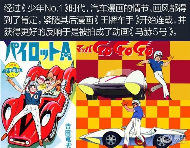 漫画推动了F1车手培养及汽车改装的兴起