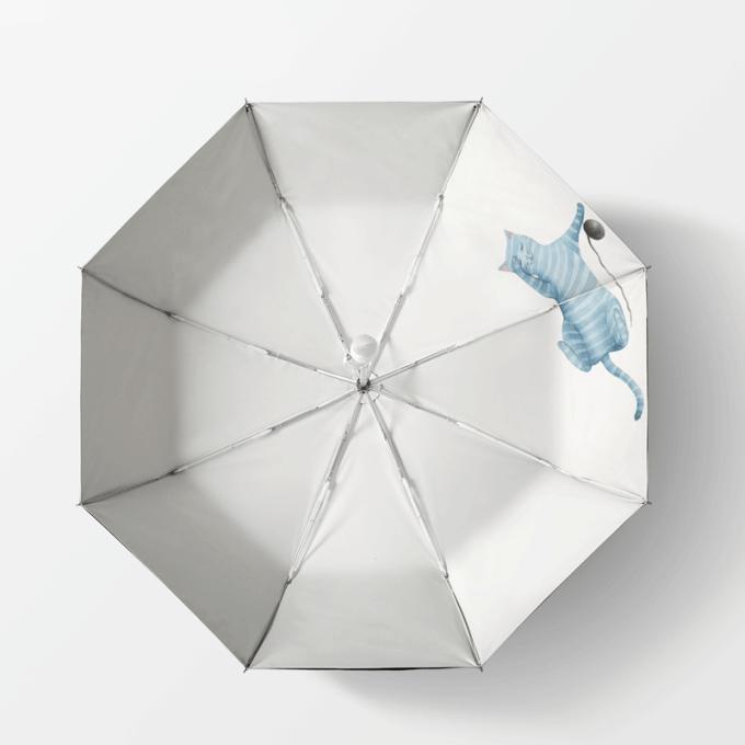 雨伞推拉开关结构图