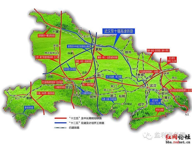 监利县最新城区规划图