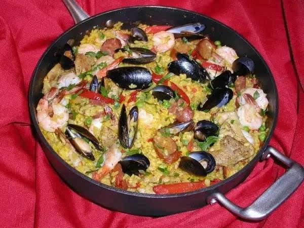 6,西班牙海鲜饭