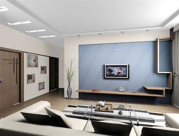 硅藻泥电视背景墙效果图2016