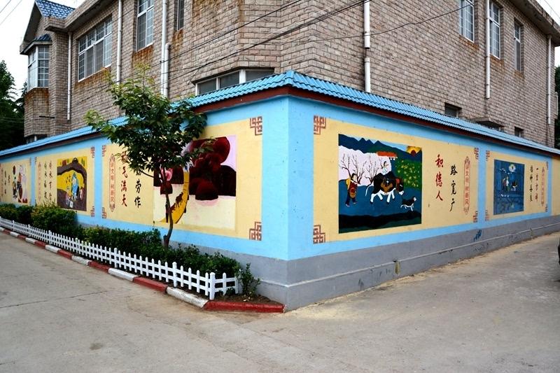 安阳:打造公益特色手绘墙 助推文明建设