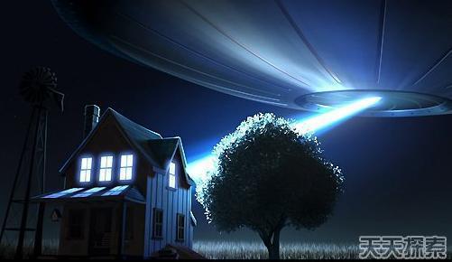 外星人目击事件图片