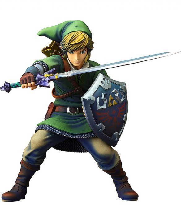 gsc《塞尔达传说:天空之剑》林克图片