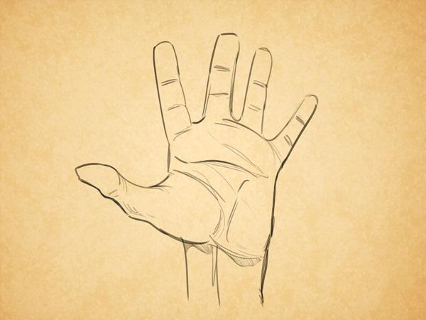人物的手(翻译理论)