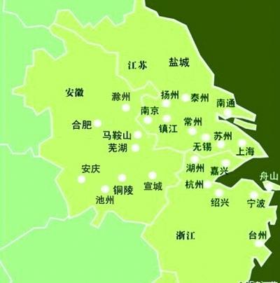 江苏浙江上海城市地图图片