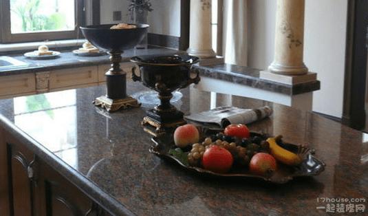 楼房欧式厨房吧台装修效果图