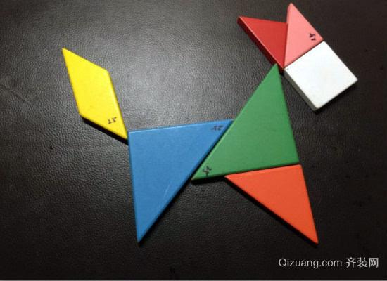 七巧板中的正方形拼法有哪些