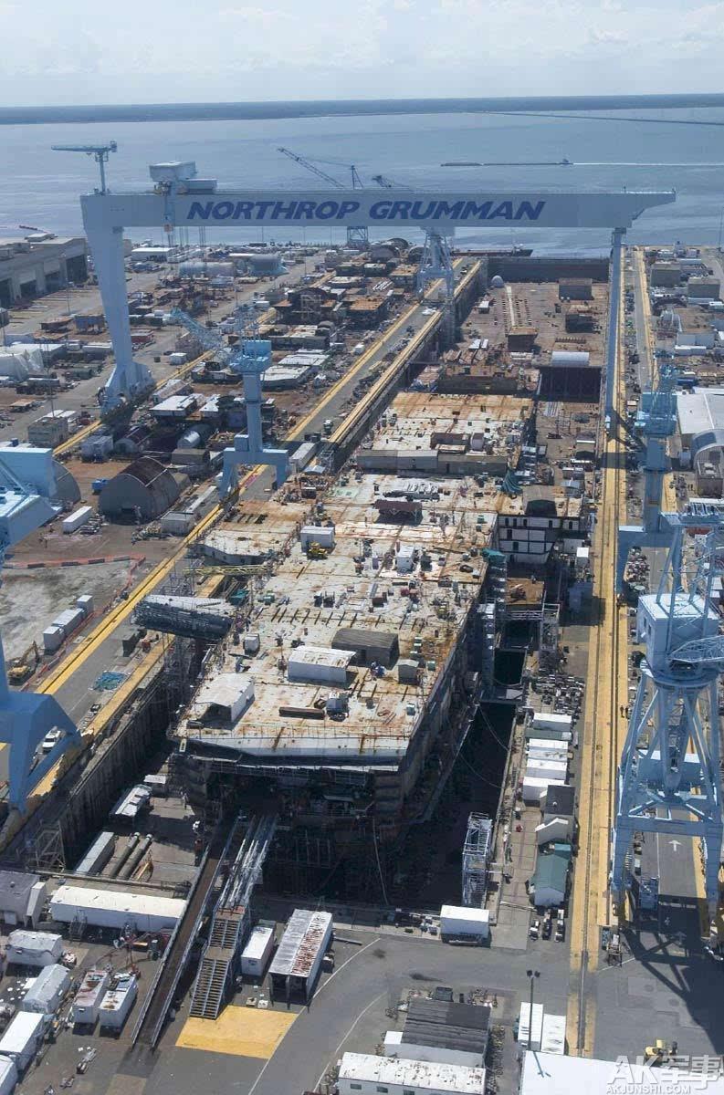 国产航母全景图首曝光 中国或有三大航母造船厂