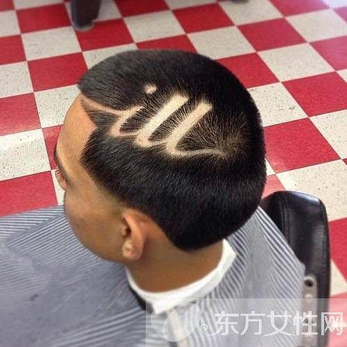 男生个性刀疤头发型推荐 简约时尚的不二之选
