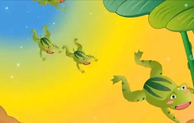 青蛙捉害虫-儿童睡前故事 小蝌蚪找妈妈