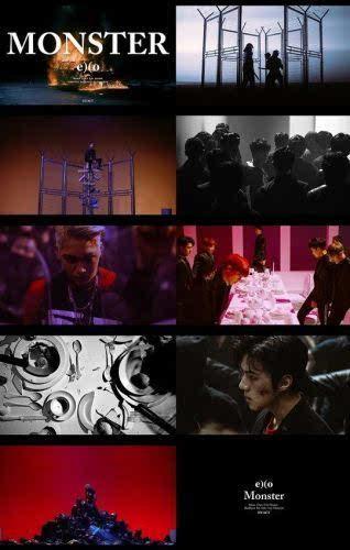 monster exo 歌谱