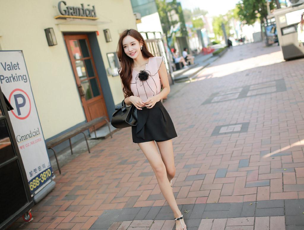 超好看的韩国服装模特美女-搜狐