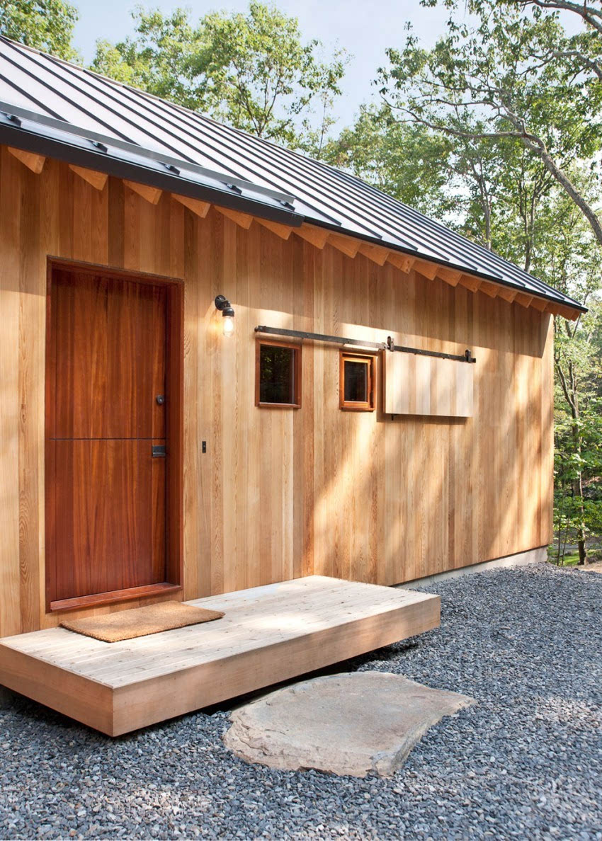 温馨的乡村别墅设计作品 复古小木屋
