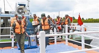 团珍宝岛哨所官兵仍然坚守哨位,坚持巡逻执勤,忠诚守卫祖国边境安宁.